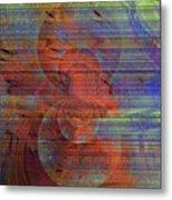 Blending Palette Metal Print