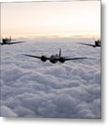 Blenheim And The Fighters Metal Print