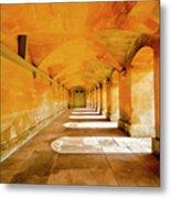 Blenheim Arches Metal Print