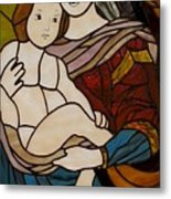Blessed Art Thou Among Women-mary Metal Print