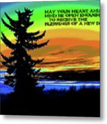Blessings Of A New Day 2 Metal Print