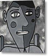 Blind Date Guy Metal Print
