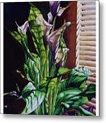 Blind Luck Lilies Metal Print