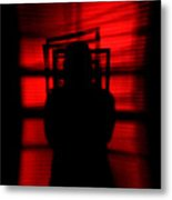 Blind Shadow Metal Print