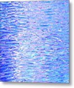 Blissful Blue Ocean Metal Print