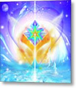 Blissful Heart Metal Print