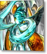 Blissfulness Abstract Metal Print