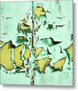Blistered Paint Metal Print