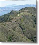 Blithedale Ridge On Mount Tamalpais Metal Print