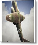 Blitz On The Clouds Metal Print