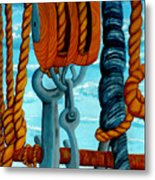 Block And Tackle Metal Print