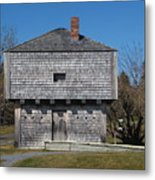 Block House Metal Print