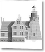 Block Island South East Rhode Island Metal Print