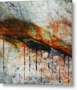 Blood From A Stone Metal Print