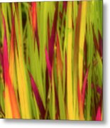 Blood Grass Metal Print