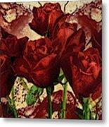 Blood Red Lust Metal Print