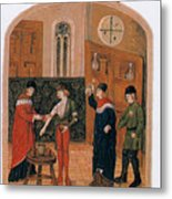Bloodletting Metal Print