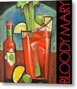 Bloody Mary Poster Metal Print