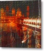 Bloody String Theory Metal Print