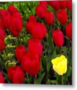 Bloom Where Your Planted Metal Print