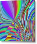 Bloomin Colorful Metal Print