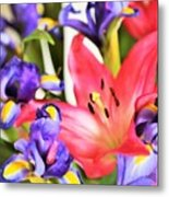 Blooming Colors Metal Print