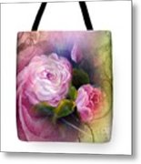 Blooming  Bag  Metal Print
