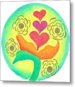 Blossoming From Within Metal Print