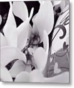 Blossoming Love Metal Print
