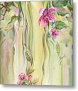 Blossoming Spring - Crab Apple Metal Print
