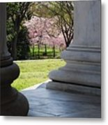 Blossoms Of The Columns Metal Print