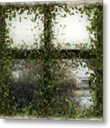 Blotted Out Metal Print