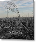 Blow With The Wind Metal Print