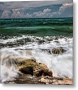 Blowing Rocks Preserve  Metal Print