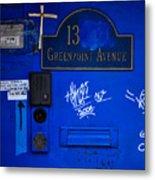 Blue 13 Metal Print