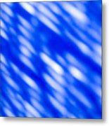Blue Abstract 1 Metal Print