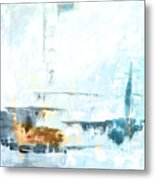 Blue Abstract 12m1 Metal Print