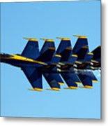 Blue Angels 1-4 Metal Print