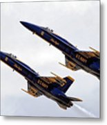 Blue Angels Iv Metal Print