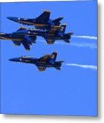 Blue Angels Perform Over San Francisco Bay Metal Print