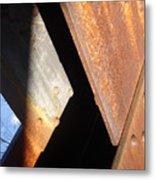 Blue Angle Metal Print