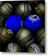 Blue Balls Metal Print