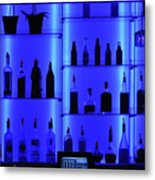 Blue Bar Metal Print
