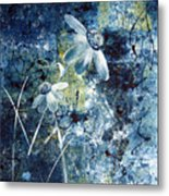 Blue Beauties Metal Print