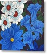 Blue Bell Flowers Metal Print
