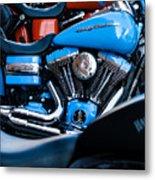 Blue Bike Metal Print by Tony Reddington