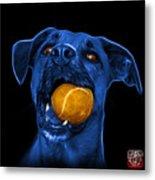 Blue Boxer Mix Dog Art - 8173 - Bb Metal Print