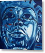 Blue Boy Metal Print