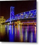 Blue Bridge 2 Metal Print