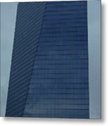 Blue Building Metal Print